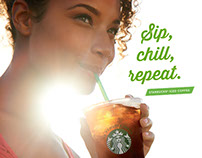 Starbucks Foodservice Canada Summer 2014 Promotion