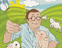 """Editorial Illustrations for """"Fergus's Table"""" 2015"""
