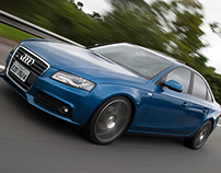 Photography Audi A4 S line