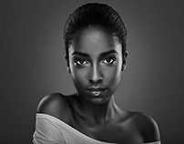 Black & White Beauty and Portrait