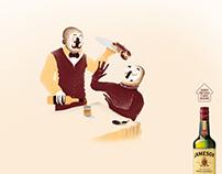Beber em casa é mais seguro - Jameson