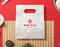 Tuk Tuk - Asian Food - Branding