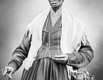 Sojourner Truth Digital Art by Wayne Flint