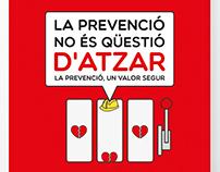 Riesgos laborales | La prevenció no és qüestió d'atzar