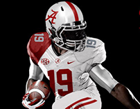 Alabama Crimson Tide a Uniform Concept