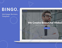 Bingo Multipage Business Template