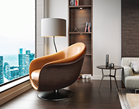 Arghos Lounge Chair