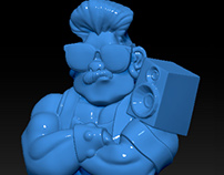 3D sculpt works.