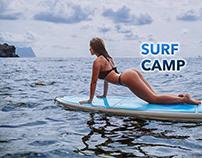 Школа сёрфинга. Surf Camp.