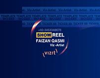 Vizrt Showreel(Faizan Qasmi)