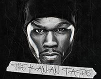 "50 Cent ""The Kanan Tape"" Official artwork"