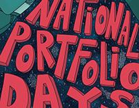 Florida National Portfolio Days Poster
