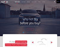 Website Car Test / web / web development / web design