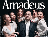 Amadeus, Mar 2019: cover & backstage