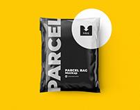 Free Download: Shipping Bag Mockup