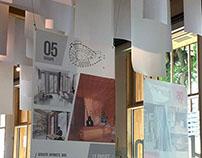 Bâtiment B/L'expo, le bois valorisé par la scénographie