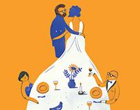 Wedding Invitation Tom & Karlien