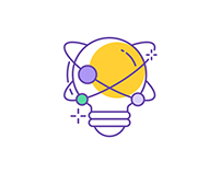 40 Purple Business Icons
