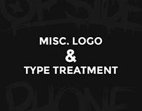 Misc. Logo & Type Treatment