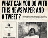 Times of India nanhi kali print contest