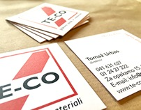 Online portfolios on behance square business cards with colored extra thick edge colourmoves