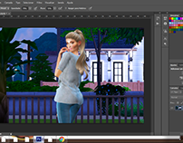 Speed Paint The Sims 4