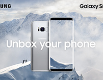 Samsung S8|S8+ Arctic White Animation