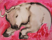 Ink Wash Animals