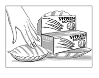 Conceptual storyboards for Vitrum