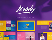 Moody Powerpoint Template