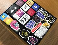 Brand sticky design direction