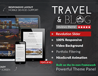 Travelogue | Themeforest Template