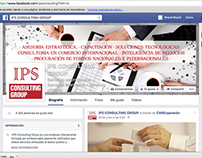 IPS Consulting Group: Frontcovers Facebook