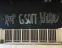 Hand Lettering - Keep GSOFT Weird