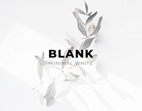 BLANK - Minimal Website (Concept)
