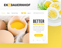 EkoBauernhof_E-commerce Website design