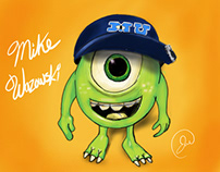 Mike Wazowski Drawing