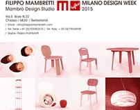 MILANO DESIGN WEEK / 2015 / FILIPPO MAMBRETTI