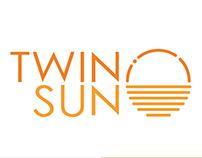 TwinSun identity design
