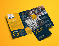 Trifold Conference Brochure Template