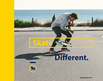 Kingo Griptape - Skate Different Campaign