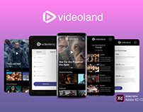 Videoland – Video Mobile App Kit