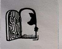 Tattoo/ Henna totems design.