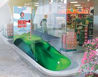 Caltex: Mini Golf Design