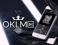 OKLM Radio - Redesign Application