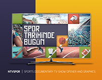 NTVSPOR | SPORTS DOCUMENTARY TV SHOW OPENER & GRAPHICS