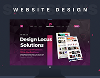 Design Locus - Digital Agency Website Design.