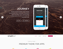 Startup - App Agency WordPress Theme