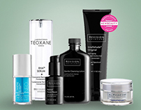 Retail Skin Care Shopping Site / Design Direction