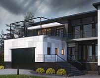 VOLMA HOUSE 2.0 [ Архитектурный проект загородного дома